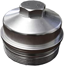 Polished Billet Aluminum Oil Filter Cap For 2003-2010 Ford 6.0L 6.4L Powerstroke Diesel