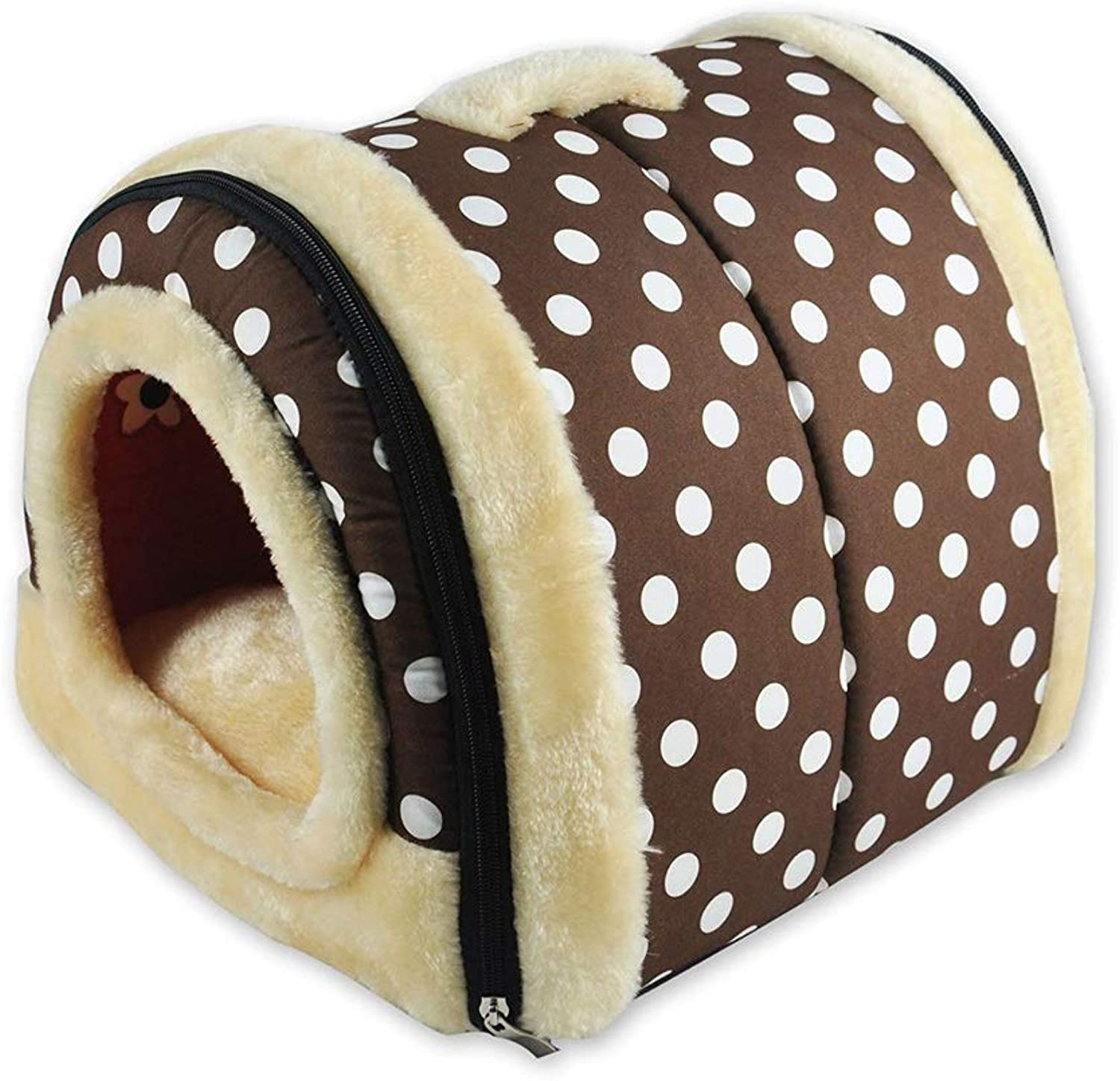 Pet house Pet Bed Large Dog Doghouse Winter Keep Warm Washable Four Seasons Dog Kennel Indoor Doghouse 4 colors 4 Size Optional (color   C, Size   S)