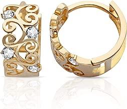 Best gold earring design for girl Reviews