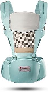 babycare多功能婴儿背带 前抱式 后背式 宝宝背带 透气款 (薄荷蓝)