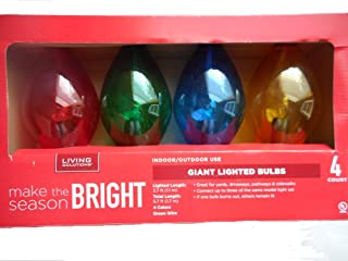 Best living solutions giant lighted bulbs Reviews