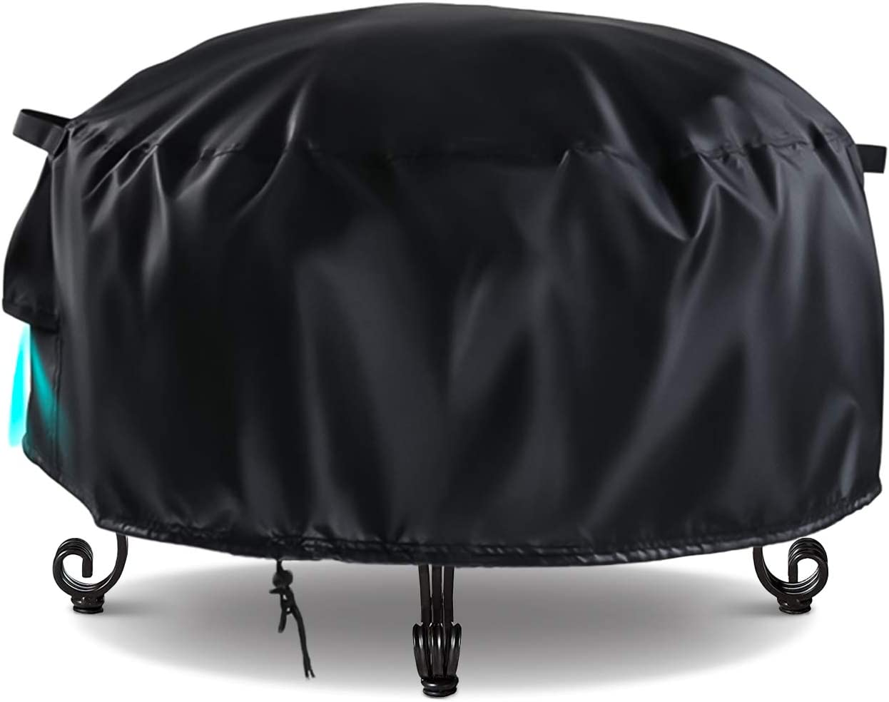 TwoPone Outdoor Fire Pit Cover Rare Round- Co Bowl Patio Bargain Inch 30