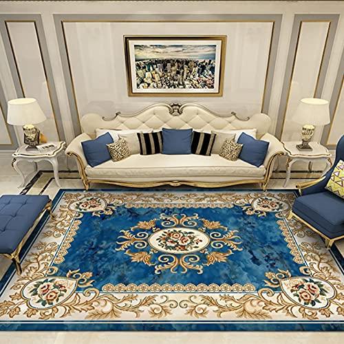 Living Room Modern Carpets (140*200CM)Bedroom Carpet Modern Short Pile Room Large Square Bedroom Size Girl Carpets For Interior Large Living Room Washable (Carpet ED26)