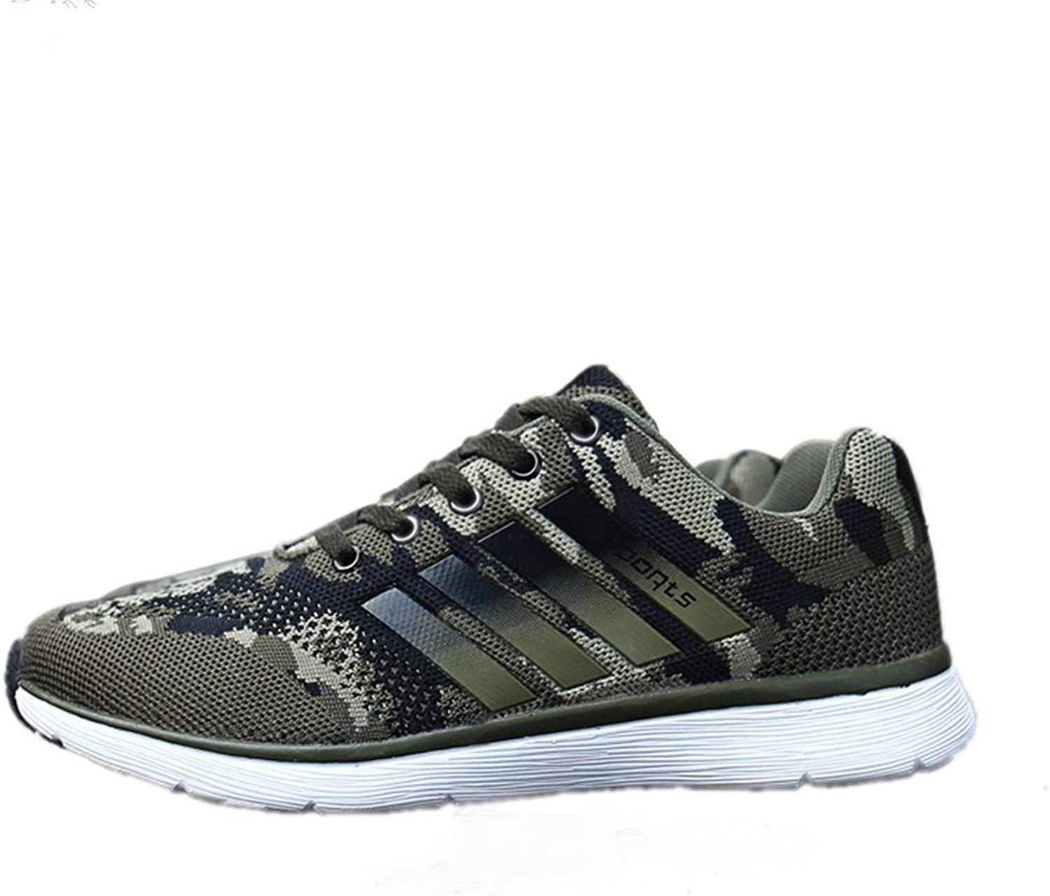TORISKY Men's Women's Trainers Sports Running Camouflage shoes Casual Walking Platform Sneaker
