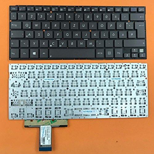 kompatibel für Asus Transformer Book TX300CA-C4005H Tastatur - Farbe: Kaffee - ohne Beleuchtung - Deutsches Tastaturlayout