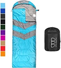 Gold Armour Sleeping Bag for Indoor and Outdoor Use - Great for Kids, Boys, Girls, Teens, Adults. Ultralight and Compact Bags for Sleepover, Backpacking, Camping