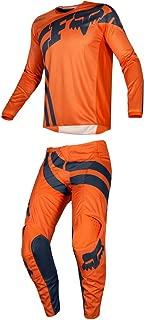 Fox Racing 2019 180 COTA Jersey and Pants Combo Offroad Gear Set Adult Mens Orange Medium Jersey/Pants 32W