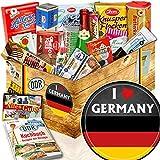 I love Germany / Deutschland Geschenkbox / XXL Suessigkeiten Box