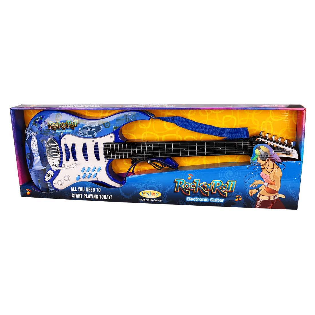 DXX Guitarra Electrica Niños 6 Cuerdas Rock Juguete de ...