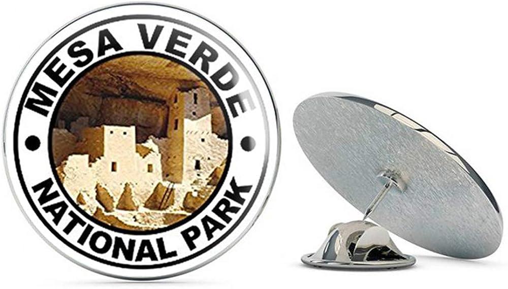 NYC Jewelers Round MESA Verde National Park (rv Hike Puebloan co) Metal 0.75