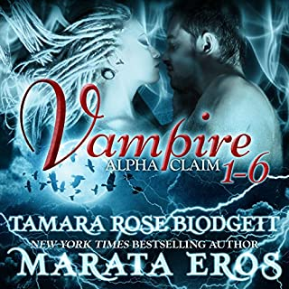 Vampire Alpha Claim Box Set, 1-6 cover art