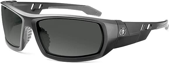Skullerz Odin Safety Sunglasses - Matte Black Frame, Smoke Lens