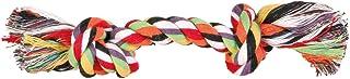 TRIXIE Cuerda de Juego, Algodón, Multicol,Dobl,500g,60cm