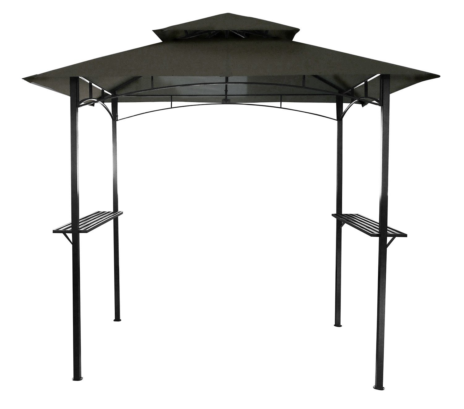 Bentley - Toldo para barbacoa de 2, 4 x 1, 5 m - Gris: Amazon.es ...