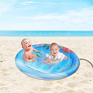 Baby Play Mat, Water Toys Play Mat Baby, Inflatable Thick PVC Children's Decoration Play Mat For Baby for Bedroom Living R...