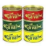 [6缶] 国産さばアソート (オリーブオイル、レモンバジル、パプリカチリソース 各2缶)  ギフト箱無