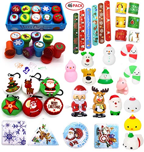 EDsportshouse Christmas Toys Assortment for Kids Party Favors,Treats Goodie Bags Fillers,Prizes for Kids Classroom Rewards, Stocking Stuffers for Advent Calendar,Pinata Fillers,Treasure Box