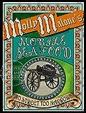 Molly Malone Metallschild The Darling of Dublin,
