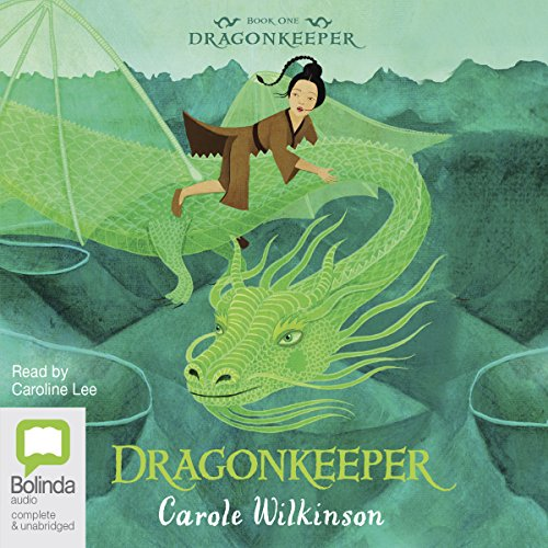 Dragonkeeper audiobook cover art