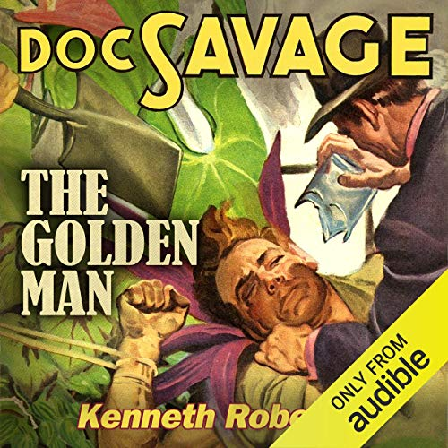 The Golden Man audiobook cover art