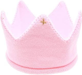 SMARTRICH Baby Boy Girl Geburtstagsparty gestrickte Krone Stirnband 20X5CM