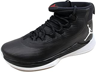 Nike Schuhe Jordan Ultra.Fly 2 Black-White-University Red (897998-011) 47,5 Schwarz