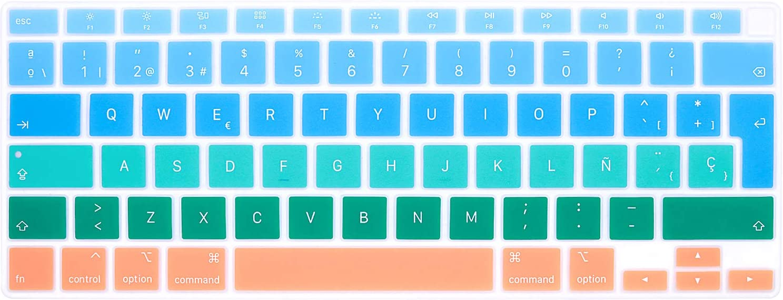 Protector de teclado español MacBook Air 13 (A2179 2 (ZY81)