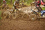 Motocross ATV Enduro Mud Quad Quad Race-12 Inch by 18 Inch Laminated Poster-posters With Bright Colors And Vivid Imagery-convenient 12 Inch by 18 Inch Size Fits Perfectly In Many Attractive Frames