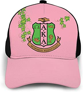 Alpha Kappa Alpha Womens Tie Dye Baseball Cap Low Profile Dad Hat
