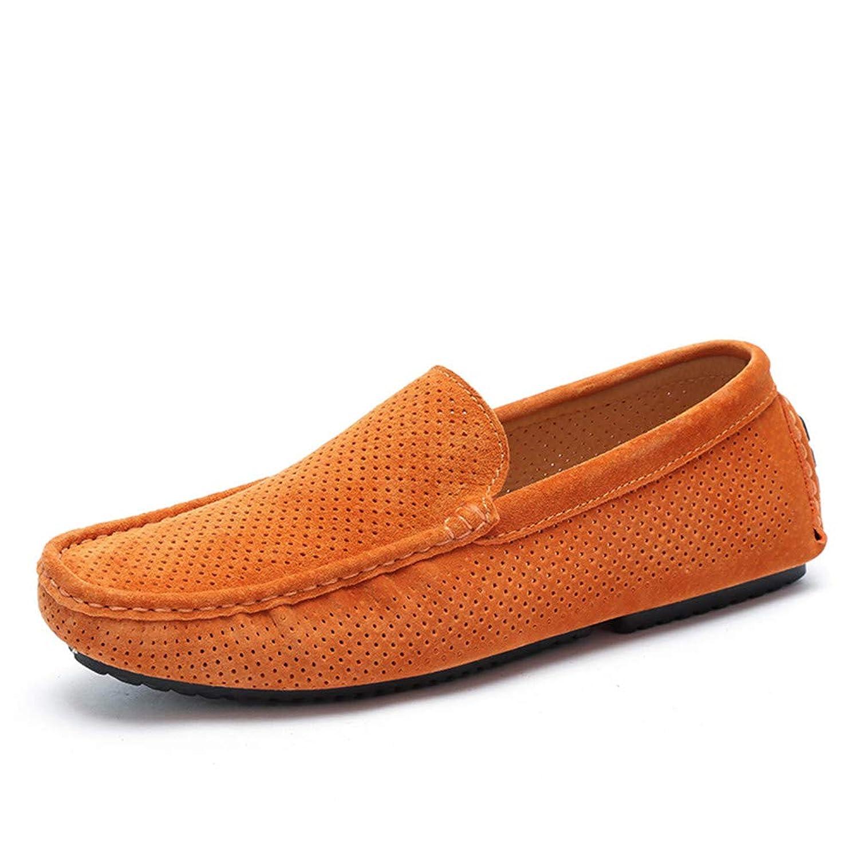 メンズシューズフラットローファー春/夏/快適ローファー&スリップオンホールLazy Shoes