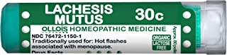 Ollois Lactose Free Homeopathic Medicines, Lachesis Mutus 30C Pellets
