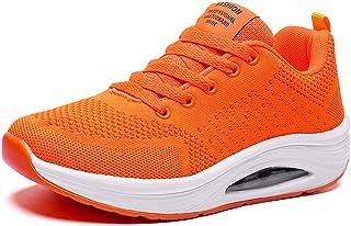JIANKE Basket Femme Running Air Légère Chaussure de Course Fitness Sport Respirant Mesh Sneaker