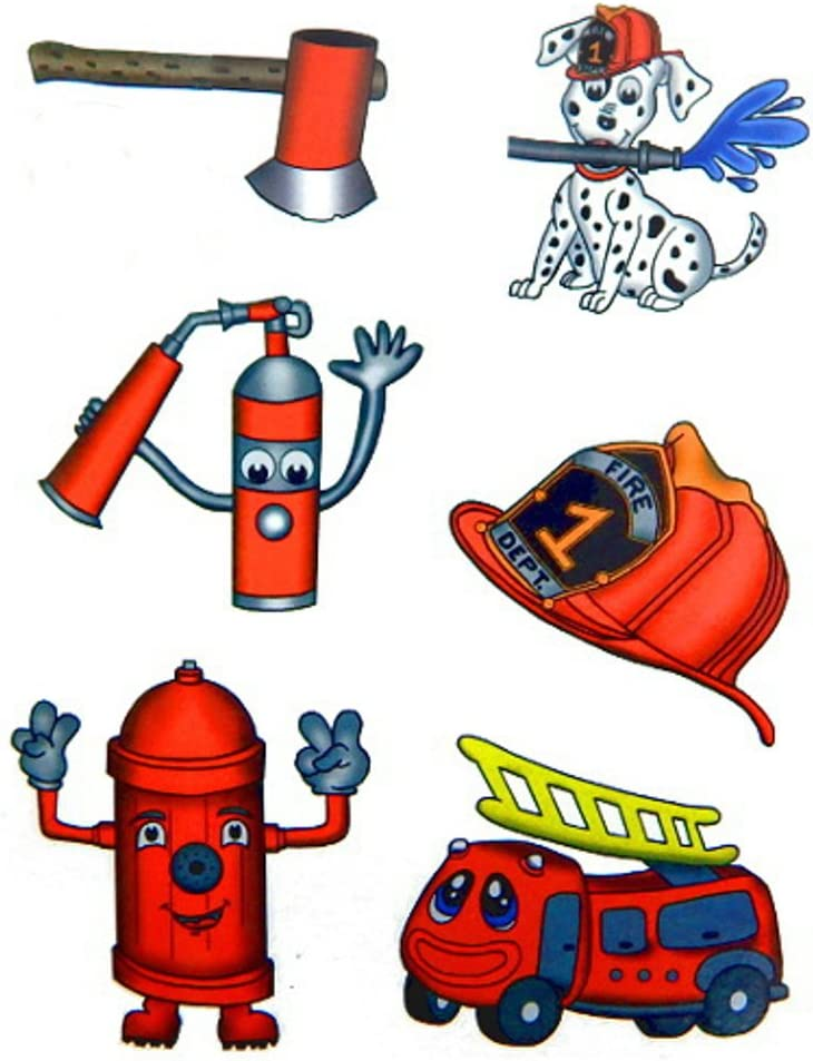 Premium Firefighter Tattoos Party Tattoo Favors Temporary OFFicial site Max 65% OFF