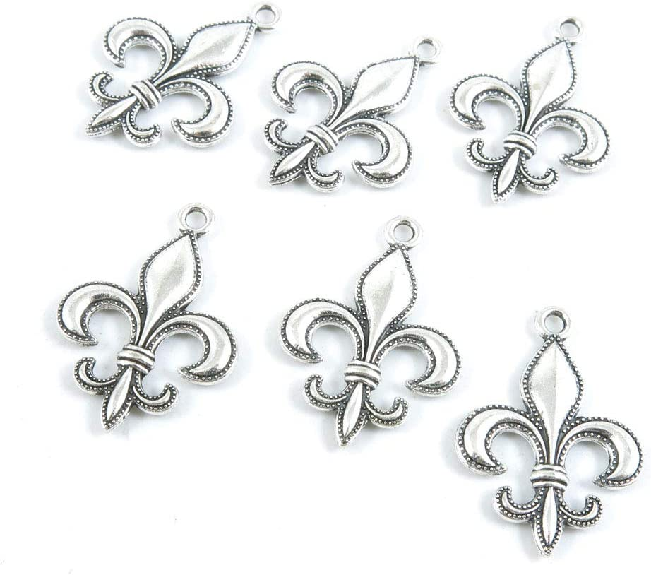 1160 Pieces Antique Silver Tone Crafting Jewelry B Making Limited time sale Max 74% OFF Charms
