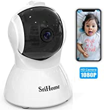 $42 » GORRON Wireless Security Camera, 1080P HD Video IP WiFi Pet Camera Baby Monitor Sound/Motion Detection with Night Vision 2-Way Audio Available Monitor Baby Elder Pet Nanny for Indoor Home Shop Office