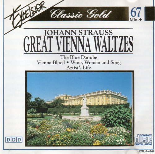 Price comparison product image Classic Gold Johann Strauss Great Vienna Waltzes