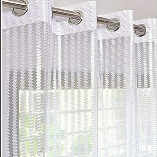 Home FURNISHINGS Sheer Crystal NET Premium Curtains 1 Piece