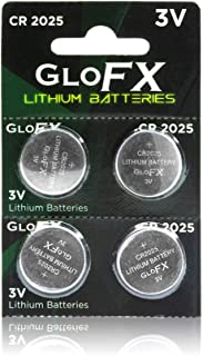 CR2025 Battery – Lithium Button Coin Cell Batteries - 3V 3 Volt - Remote Watch Jewelry Led Key Fob Replacement 2025 CR Pack Set Bulk (4 Pack)