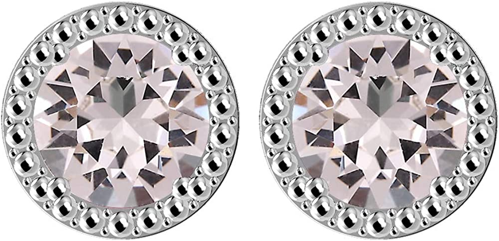 Aquamarine stud earrings,crystal stud earrings,boho earrings,fashion studs,rocks,stones,gems,minerals,small stud earrings,tiny studs,