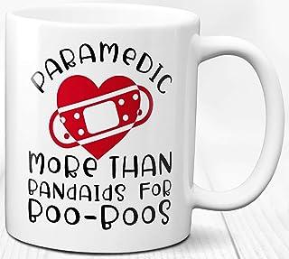 Migliore tazza di caffè paramedico Grazie regalo compleanno 330 ml Divertente messaggio tazza