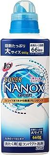 【大容量】トップ スーパーナノックス 洗濯洗剤 液体 本体大ボトル 660g