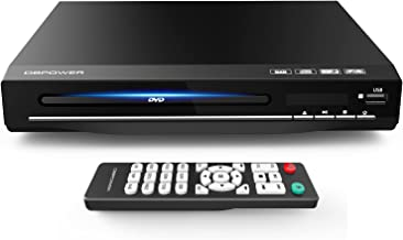 DBPOWER DVD Player for TV, Home DVD CD Player with HD 1080p Upscaling, HDMI & AV Output (HDMI & AV Cable Included), All-Re...