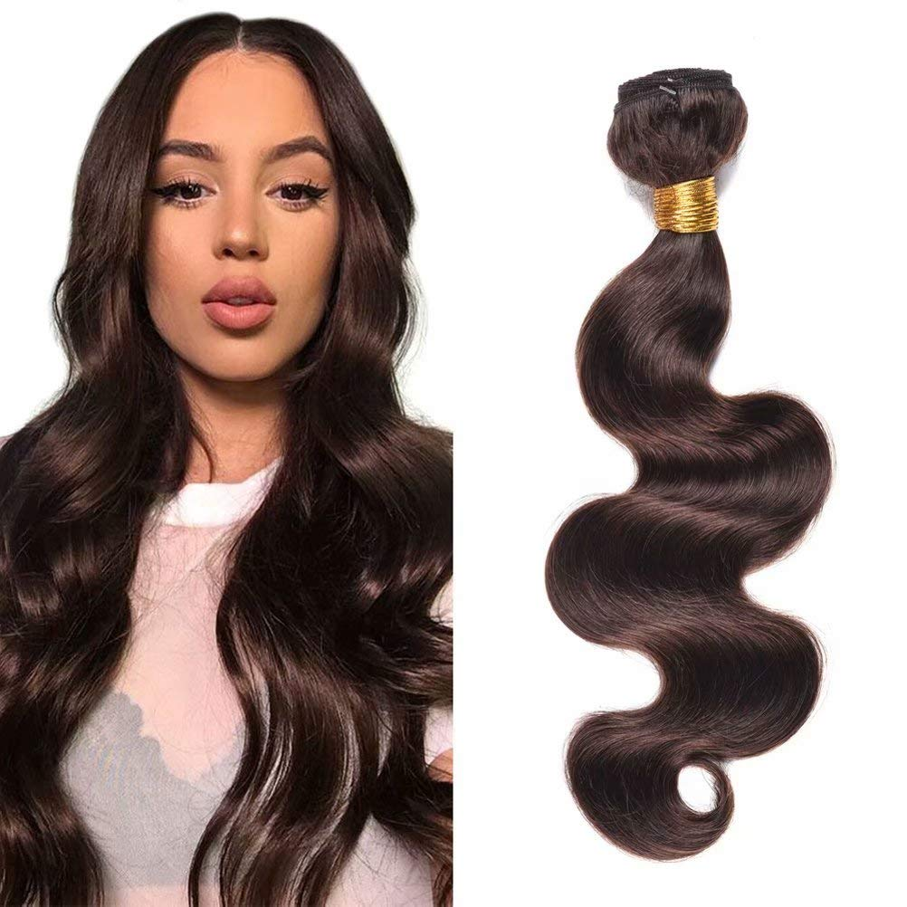 FEEL ME Brazilian Hair Weave Bundles Dark Color Credence Sales of SALE items from new works Brown Brazilia 2