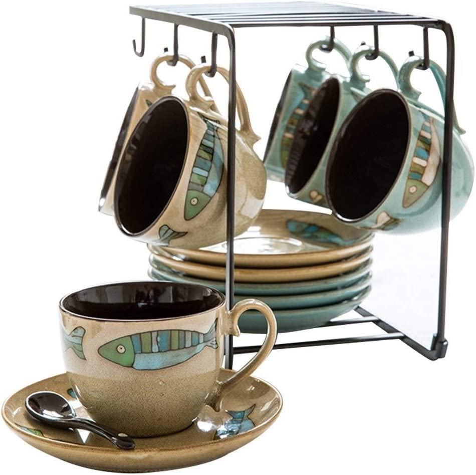 Household Elegant Coffee Cup And Saucer Max 74% OFF Max 51% OFF Set Marc Tea