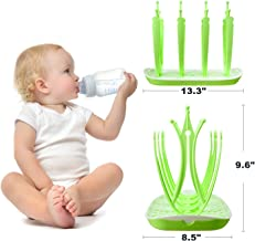 Baby Bottle Drying Rack Lawn Countertop for Infant Kids Toddler Newborn Child BPA FREE