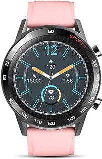 SAHWIN® Pulsera Fitness, Reloj Inteligente Impermeable IP67 con Monitor De Sueño Pulsómetro Podómetro, Caloría GPS para Deporte, Reloj Inteligente Mujer Niños,Rosado