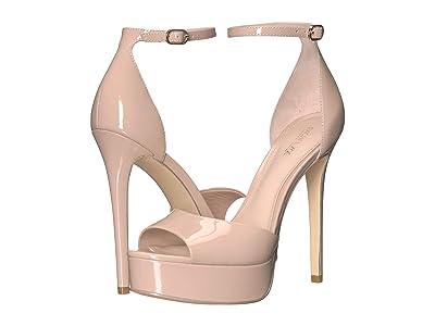 Rachel Zoe Margo Platform Sandal (Cameo Patent) High Heels