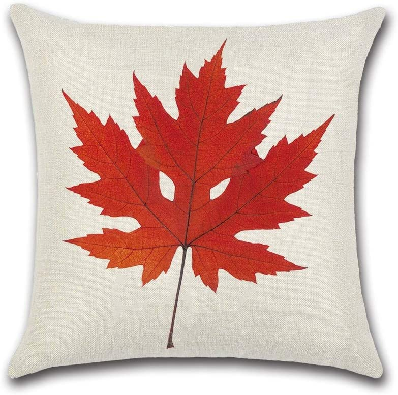 HXF- Cushion Cotton Comfortable Material Theme Cloth Maple Leaf Special price 100% quality warranty! for a limited time
