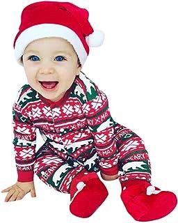 1419d01f7e99b DAY8 Vêtement Bébé Garçon Naissance 0-24 Mois Noël Pyjamas Bébé Garçon  Hiver Body Combinaison