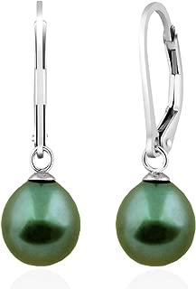 Best green pearl earrings Reviews